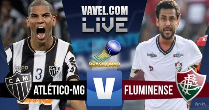 Resultado Atlético-MG x Fluminense no Brasileirão (1-1)