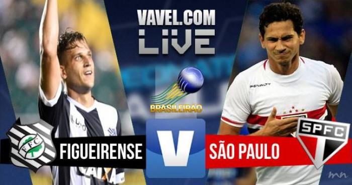 Resultado Figueirense x São Paulo no Campeonato Brasileiro (1-0)