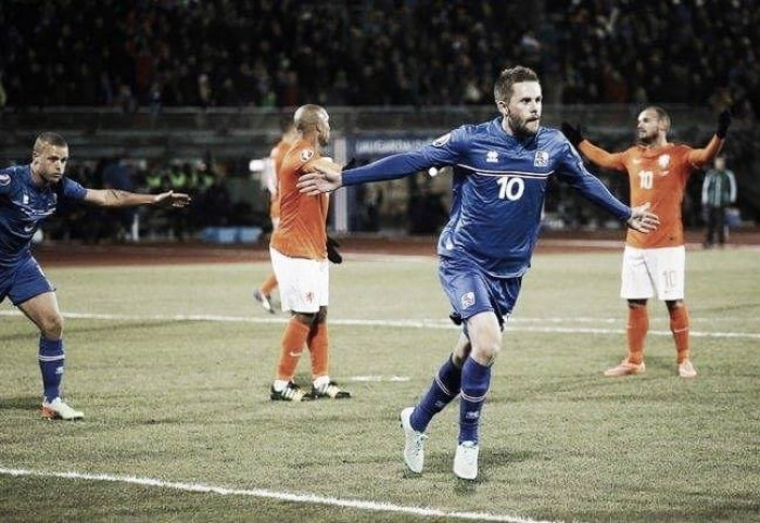 Gylfi Sigurðsson: Iceland's one in 330,000