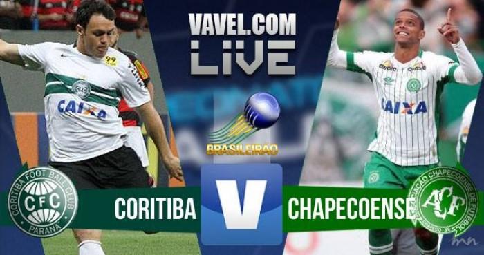 Resultado Coritiba x Chapecoense no Brasileirão (3-4)