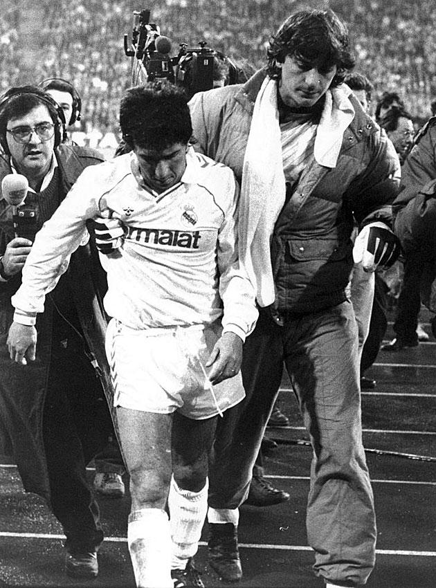 Serial Bayern - Real Madrid 86/87: el pisotón de Juanito en la debacle blanca