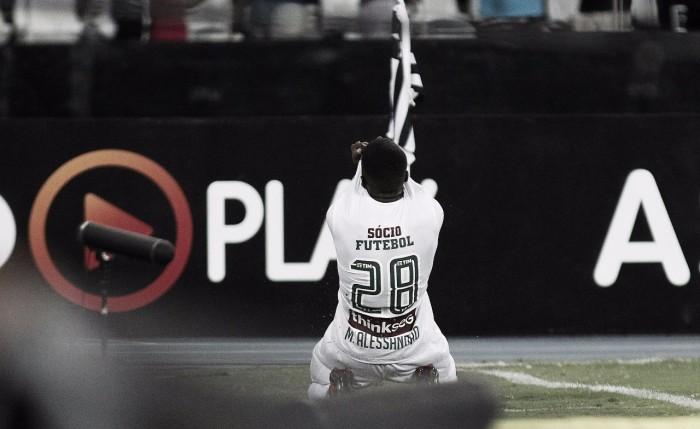 """Matheus Alessandro comemora primeiro gol e se coloca à disposição: """"Jogo em qualquer posição"""""""