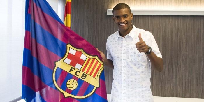 Após estreia no Barcelona, Marlon é comparado a Thiago Silva