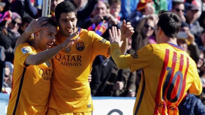 Liga, il Barcellona soffre ma vince: 0-2 con il Levante