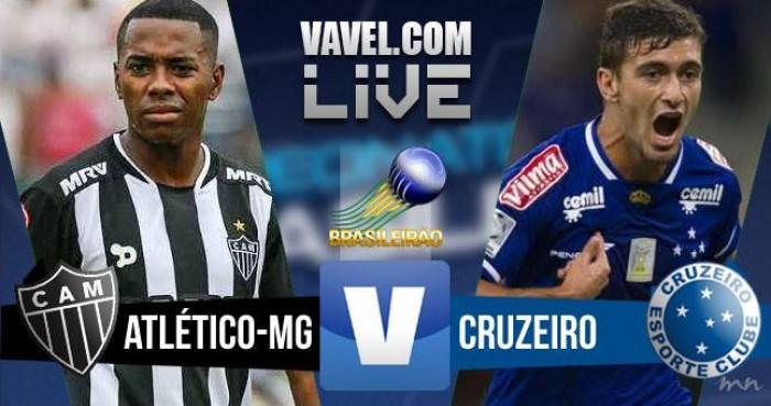 Resultado Atlético MG x Cruzeiro no Campeonato Brasileiro 2016 (2-3)