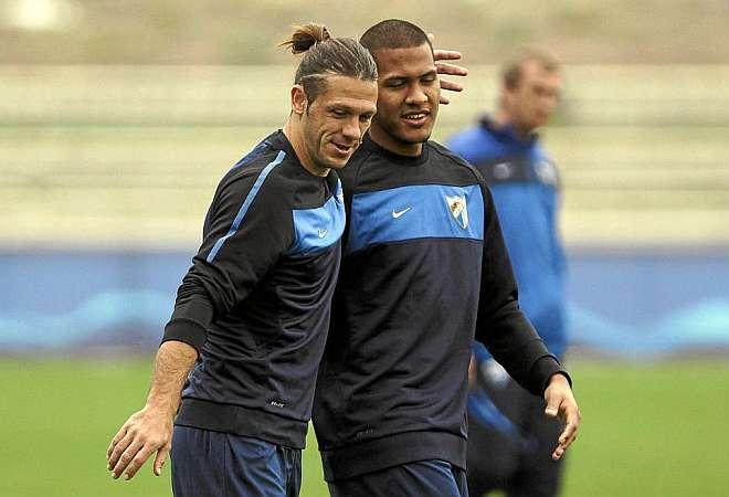 Rondón y Demichelis en el 'Partido de las Estrellas'