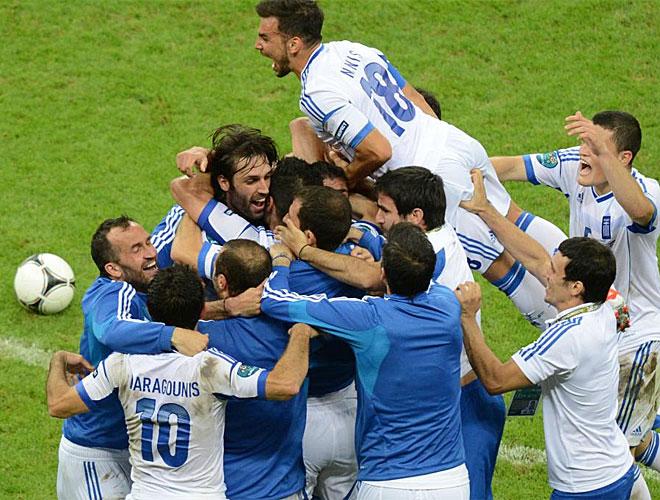 Karagounis y Samaras hacen soñar a Grecia