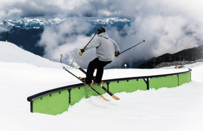 Alpine Report #3: summertime pipes and rails