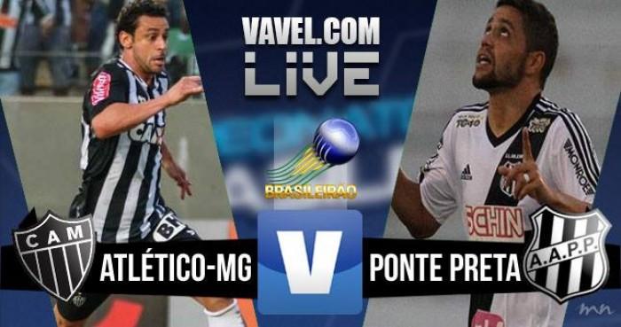 Jogo Atlético-MG x Ponte Preta no Brasileirão 2016 Série A