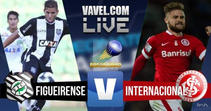 Acompanhe Figueirense x Inter no jogo Brasileirão (0-0)
