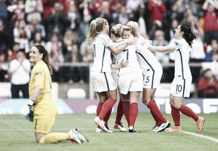 UEFA Euro 2017 Qualifying: Two big wins and one big confidence boost for the Lionesses