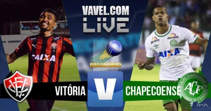 Jogo Vitória x Chapecoense no Brasileirão 2016 Série A