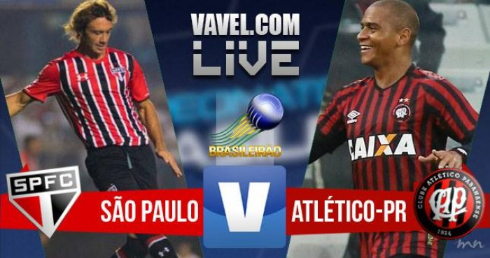 Resultado: São Paulo x Atlético-PR no Campeonato Brasileiro (1-2)