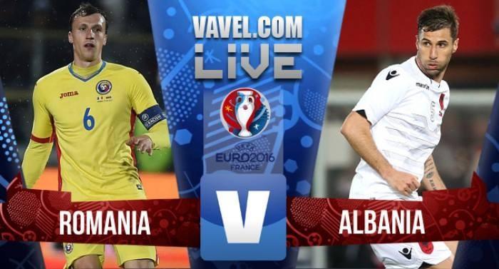 Risultato live Romania-Albania in Euro 2016. Sadiku fa sognare l'Albania! (0-1)