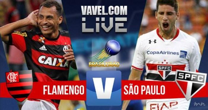 Flamengo x São Paulo no Brasileirão 2016 Série A (2-2)