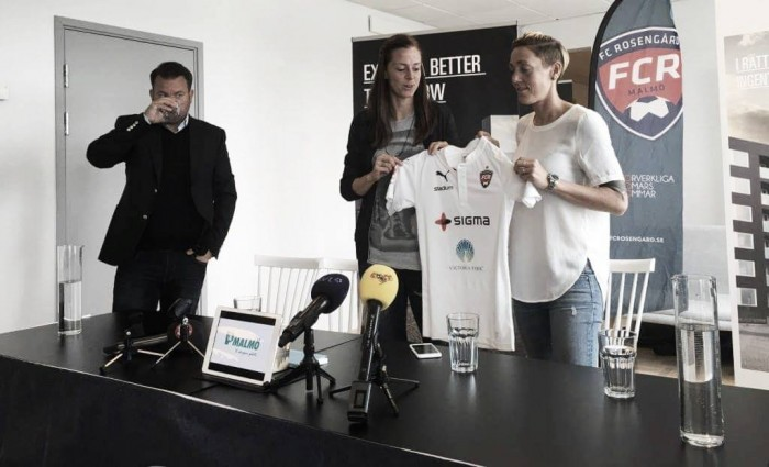 Lotta Schelin officially completes Rosengård switch