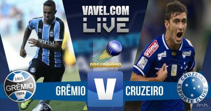 Resultado de Grêmio x Cruzeiro no Campeonato Brasileiro 2016 (2-0)