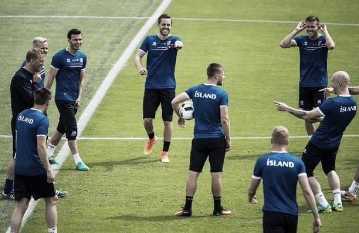 Iceland unfamiliar, but raring to go at Euro 2016