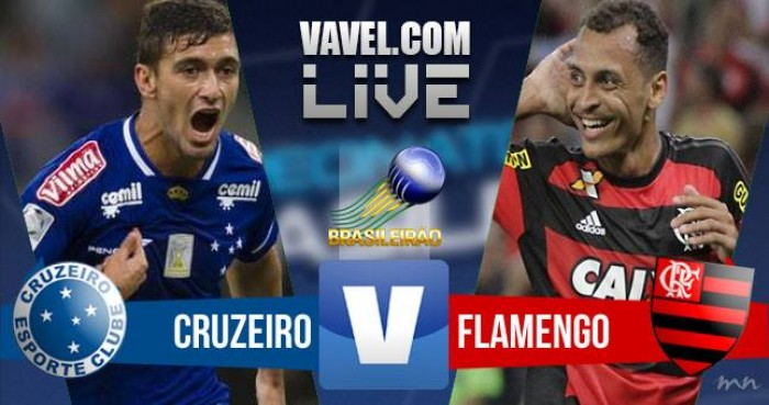 Resultado Cruzeiro x Flamengo no Campeonato Brasileiro (0-1)