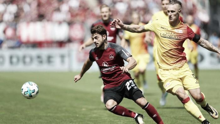 Union Berlin cede empate duas vezes ao Nuremberg e segue invicto na 2. Bundesliga