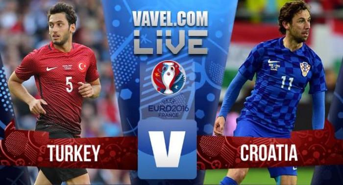 Risultato live Turchia-Croazia in Euro 2016, Modric decide la sfida in favore della Croazia (0-1)