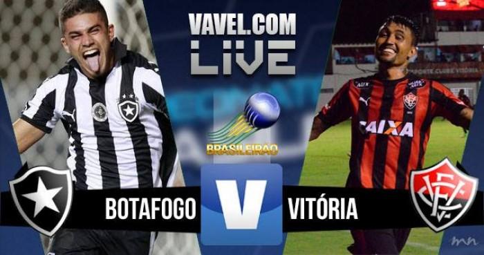 Resultado Botafogo x Vitória no Brasileirão 2016 (1-1)