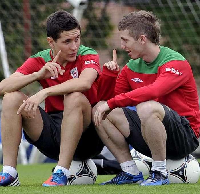 Muniain y Ander Herrera vuelven a la carga