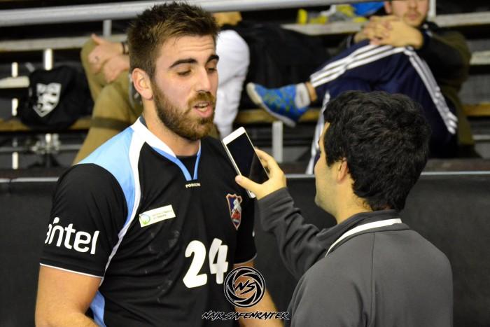 """Alejandro Velazco: """"Había que dejar todo por el equipo"""""""