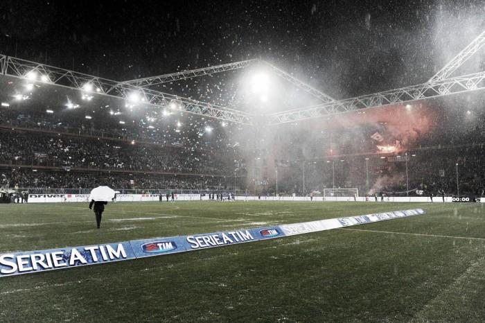 Allerta meteo: rinviata Sampdoria-Roma