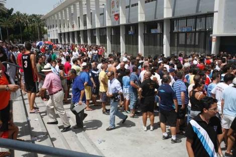 Respuesta masiva de los abonados: 10.400 entradas vendidas