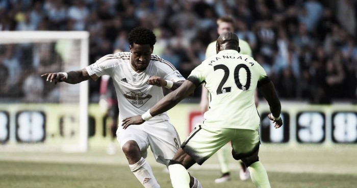Swansea confirm they are in talks to sign Leroy Fer