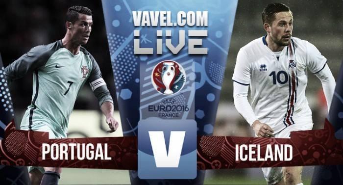 Risultato Portogallo - Islanda, Euro 2016  (1-1): Bjarnason pareggia Nani!