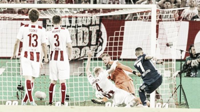 Hamburgo é superior ao Colônia e mantém máximo aproveitamento na Bundesliga
