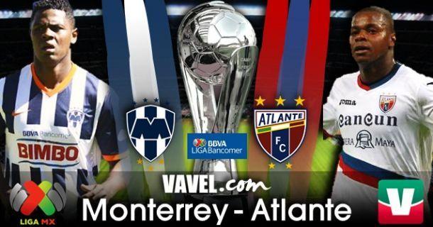 Monterrey - Atlante en Liga MX 2013 (3-2)