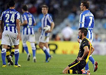 Real Sociedad- Real Zaragoza: puntuaciones del Real Zaragoza, jornada 4