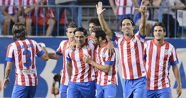 El Atlético de Madrid tiene motivos para la fiesta