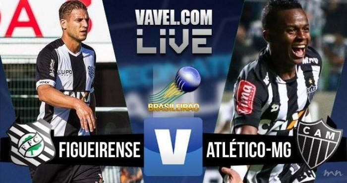 Resultado Atlético-MG x Figueirense no Campeonato Brasileiro 2016 (3-0)