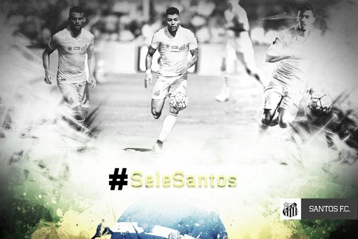 Santos é o clube que mais formou jogadores para seleção olímpica