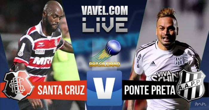 Resultado Santa Cruz x Ponte Preta (0-3)