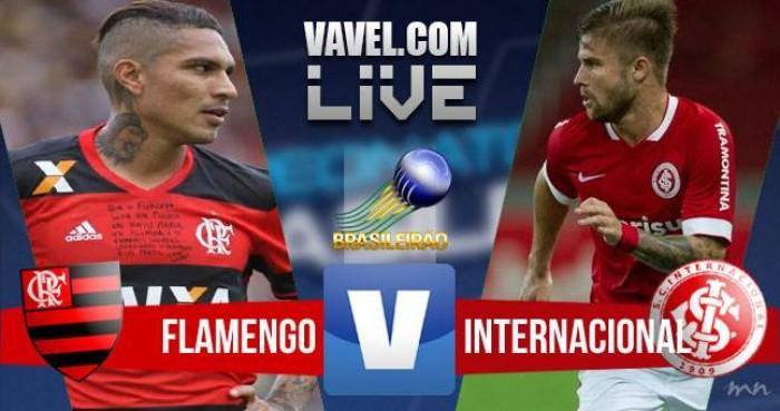 Resultado Flamengo x Internacional pelo Campeonato Brasileiro 2016 (1-0)