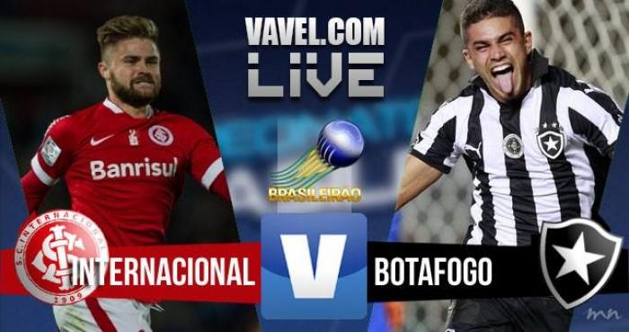 Resultado Inter x Botafogo pelo Campeonato Brasileiro 2016 (2-3)