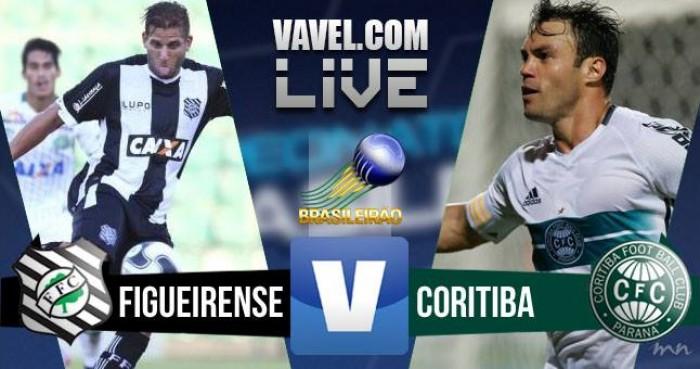 Figueirense empata com oCoritiba pelo Campeonato Brasileiro 2016 (0-0)