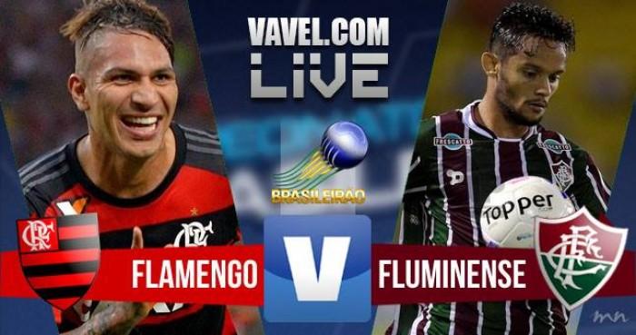 Resultado Fluminense 1x2 Flamengo no Campeonato Brasileiro 2016