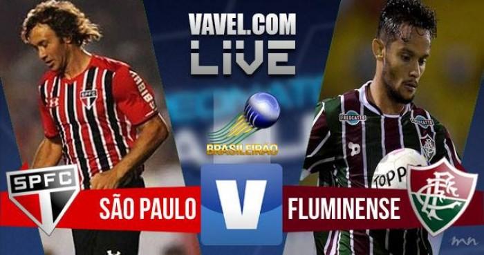 O São Paulo vence o Fluminense 2-1 e encerra um jejum de quase três anos sem vencer o tricolor carioca