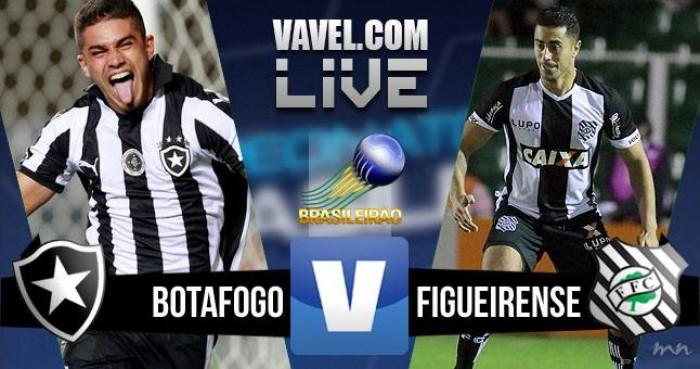 Botafogo x Figueirense no Brasileirão hoje (0-0)