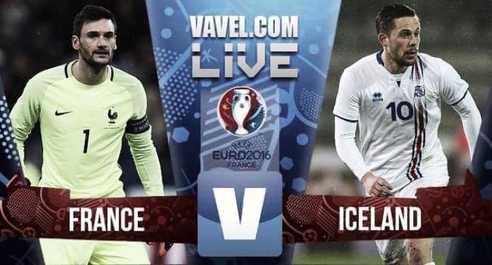 Resultado França x Islândia pela Eurocopa 2016 (5-2) | VAVEL.com