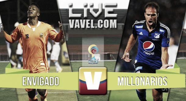 Resultado Envigado - Millonarios en la Liga Águila 2015-I (3-2)