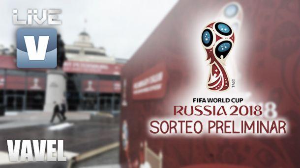 Resultado Sorteo eliminatoriasMundial de Rusia 2018