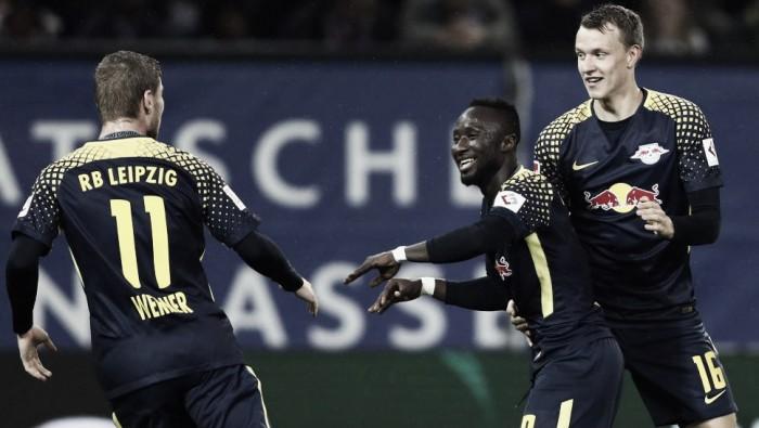 RB Leipzig vence fora de casa e encerra invencibilidade do Hamburgo na Bundesliga