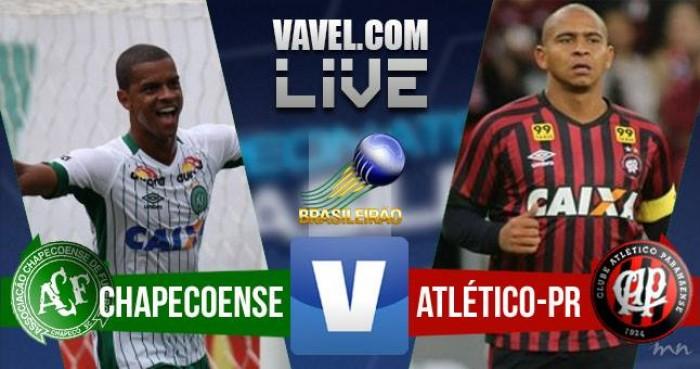 JOGO ADIADO - Chapecoense x Atlético-PR pelo Campeonato Brasileiro hoje (0-0)